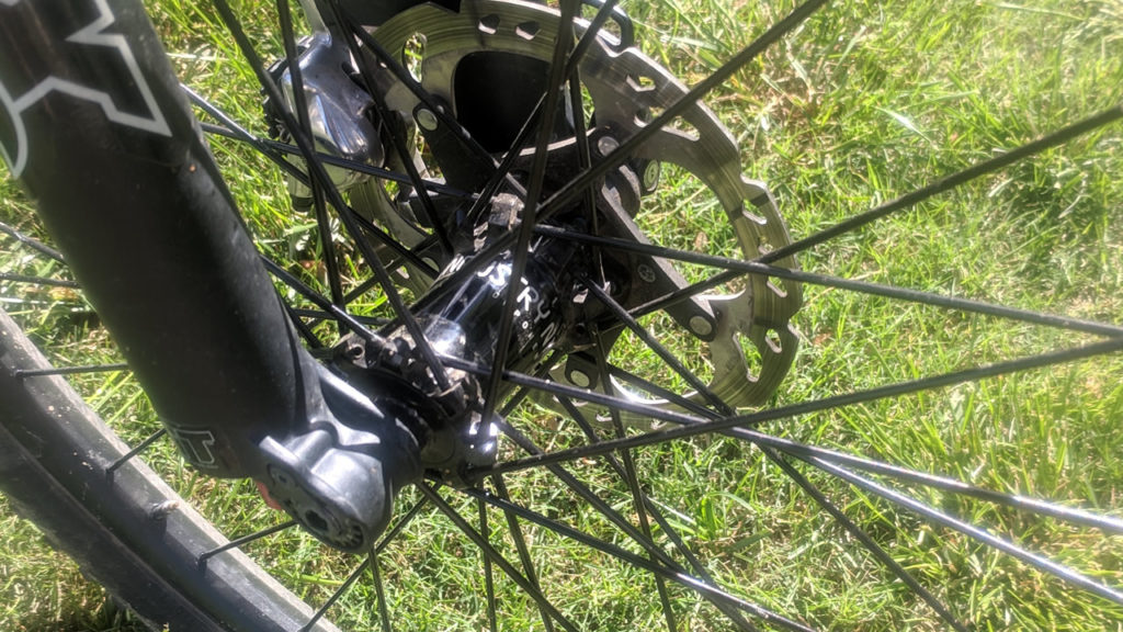 Industry Nine Trail 245 front hub