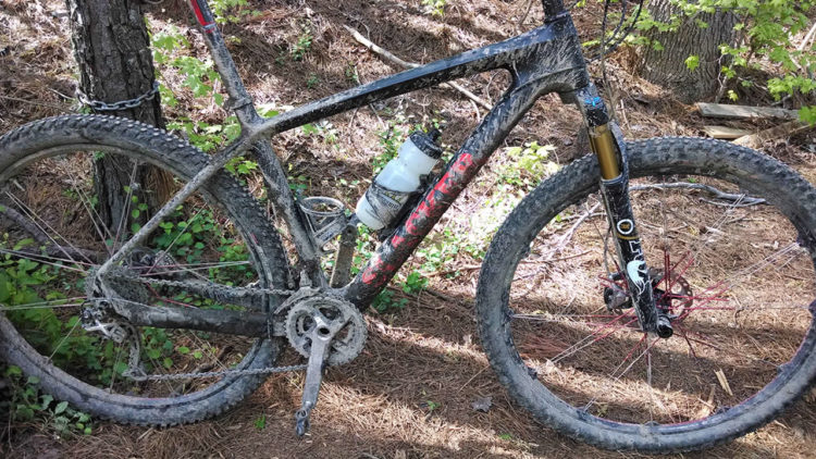 My Chinese carbon mountain bike