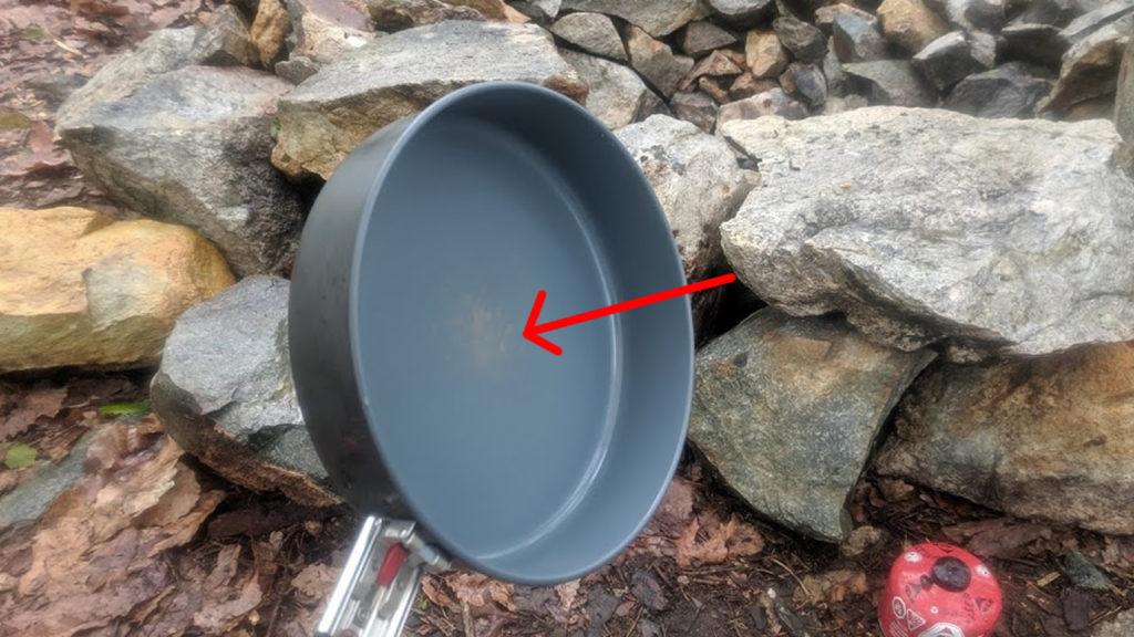 MSR Windburner Ceramic Skillet discoloration
