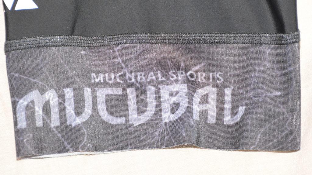 MUCUBAL bib cycling shorts leg gripper