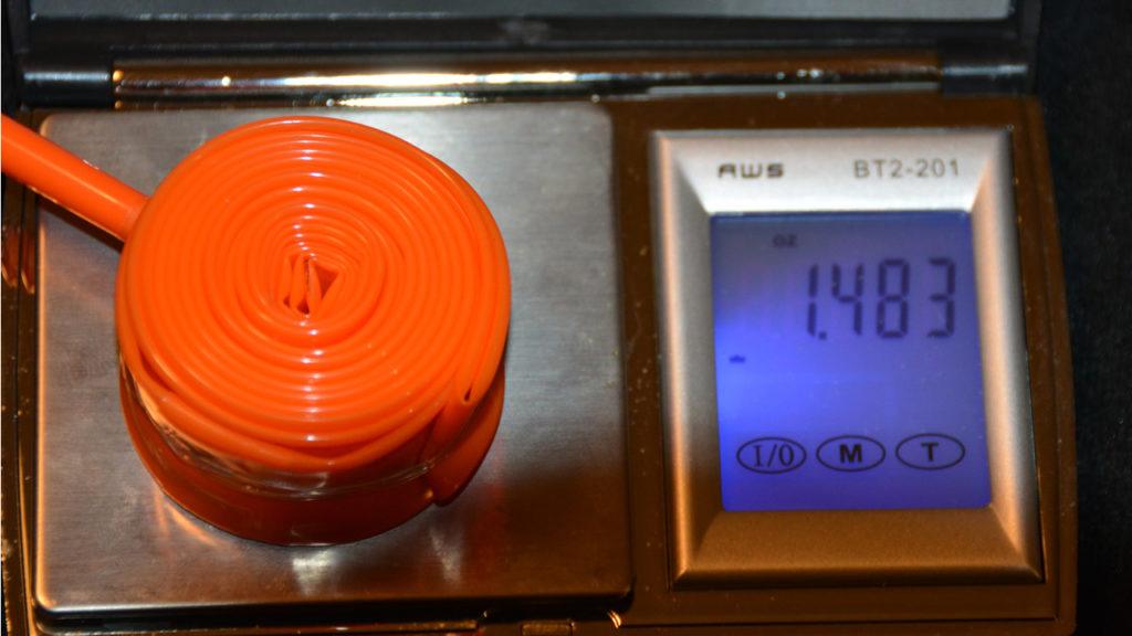 Tubolito inner tube weight