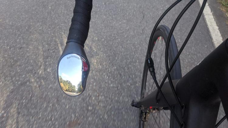 Sprintech Road Drop Bar Rearview Mirror
