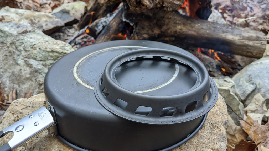 MSR Windburner skillet ring breaks off