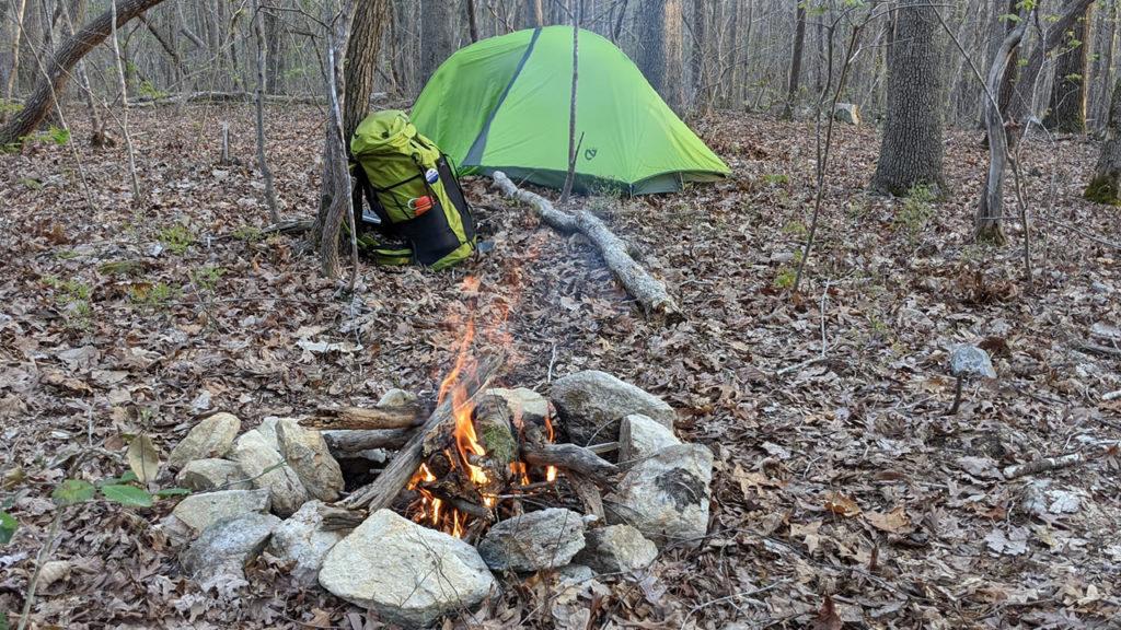NEMO Hornet 2 tent